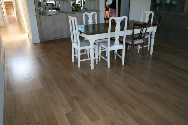 White Oak floor