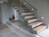 Oak staircase with Rubio Monocoat Cotton White