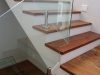 All-brown Kiaat stairtreads