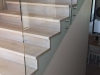 Oak stair treads and risers