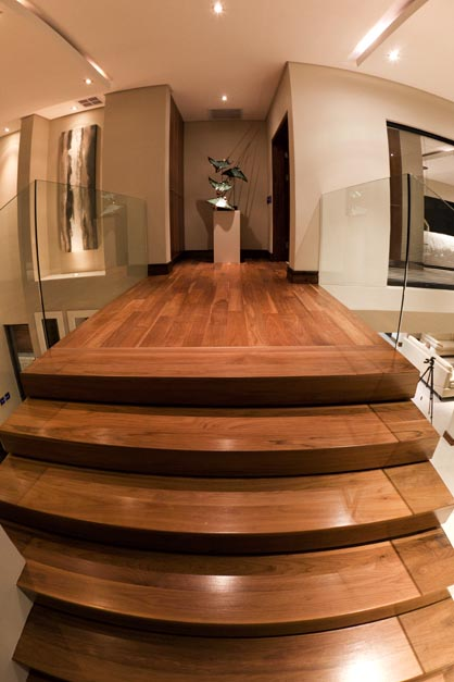 American Walnut staircase