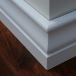 Solid wood skirtings